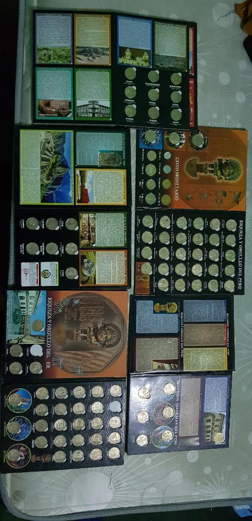 Vendo Album de Colección de Monedas