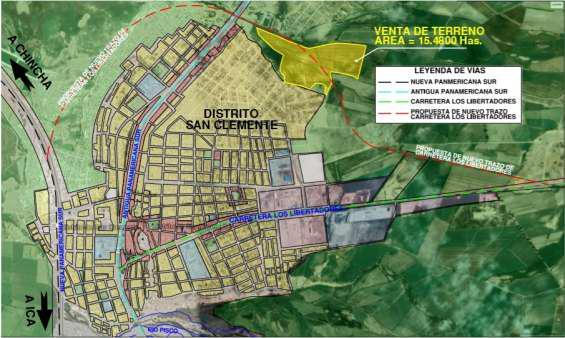 Venta de terreno de 15.48 hectareas en san clemente
