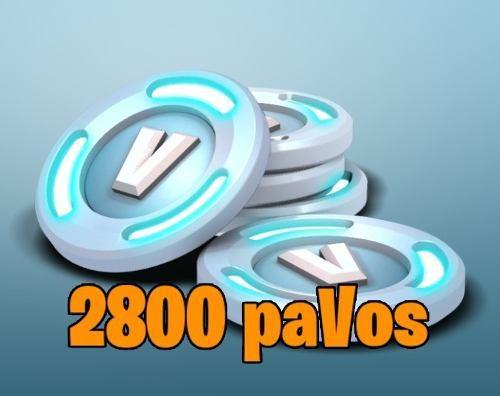 Fornite 2800 Pavos Vbucks - Cualquier Pais