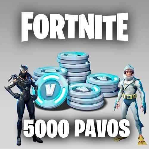 Fornite 5000 Pavos Vbucks - Cualquier Pais