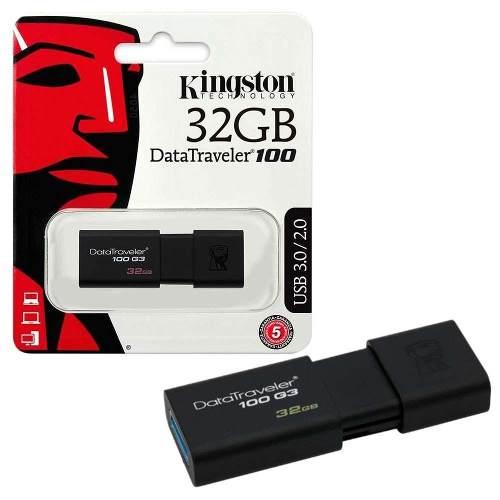 Memoria Usb 32gb Kingston Dt 100 G3 (precio Mayor)