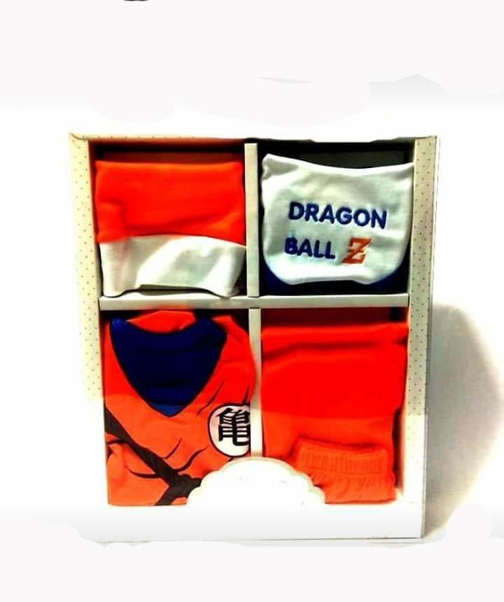 Ajuar De Dragon Ball Para Bebes Miraflores