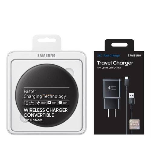 Cargador Rápido Samsung Wireless Galaxy S10 S9 S8 Note 9 8