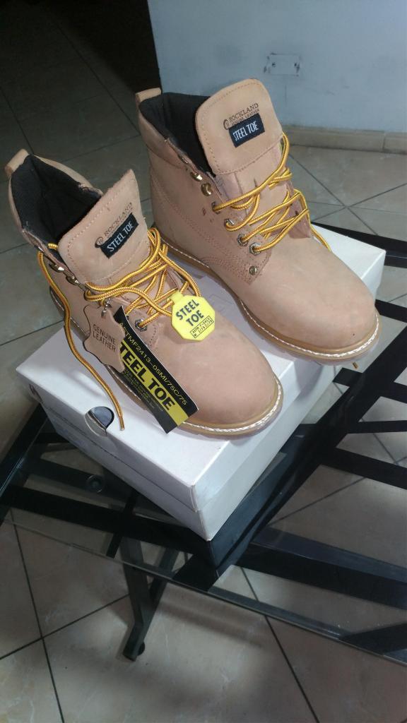 VENDO Zapatos de Seguridad con Punta Acero, talla 42,marca