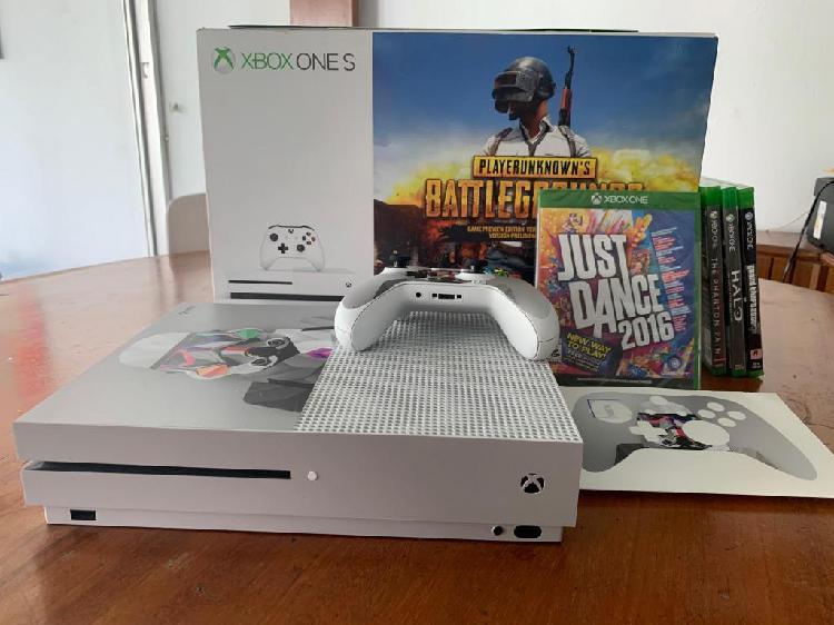 Xbox One S 1tb Mas Juego De Regalo