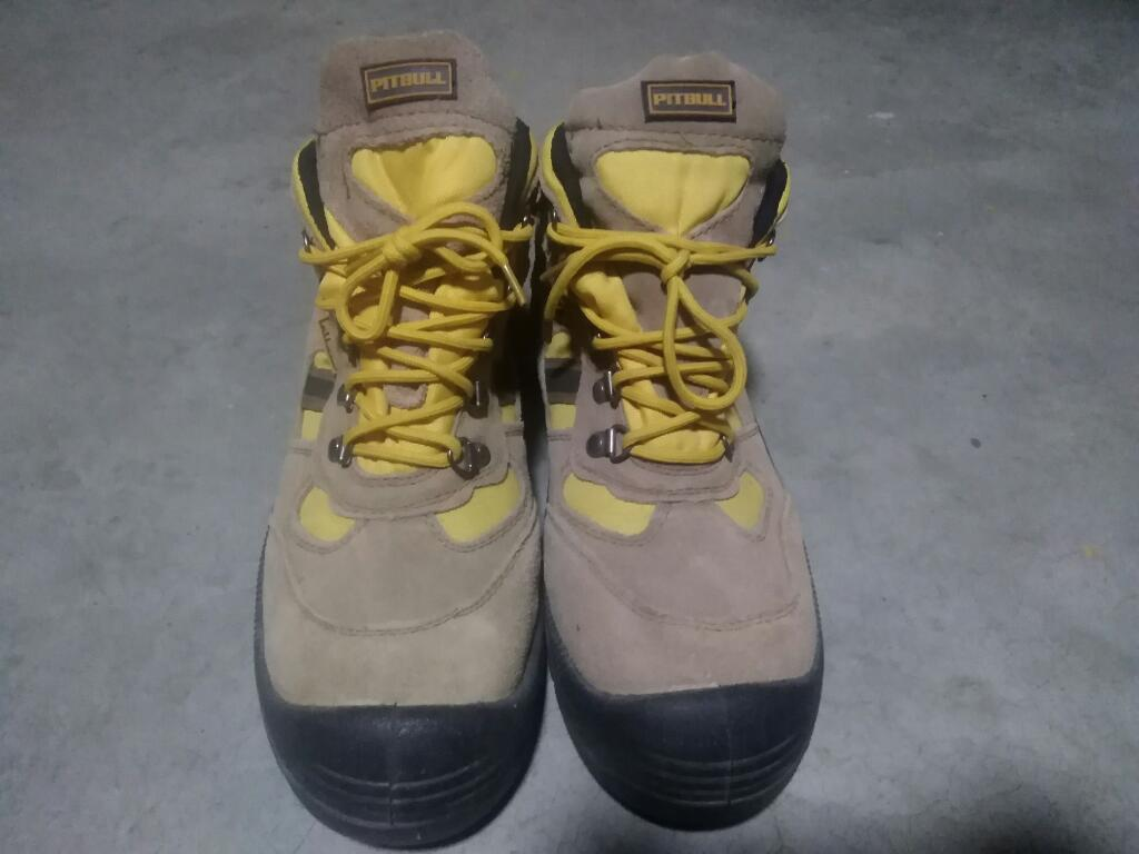 Zapatos Marca Pitbull Punta Acero