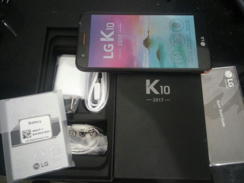 Lg K10 Nuevo para Claro