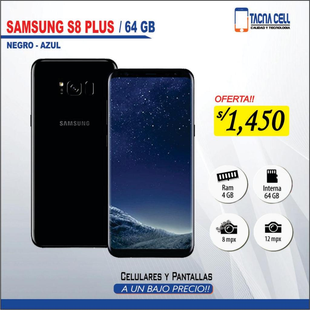 OFERTA!! SAMSUNG S8 PLUS 64GB / NUEVO EN CAJA