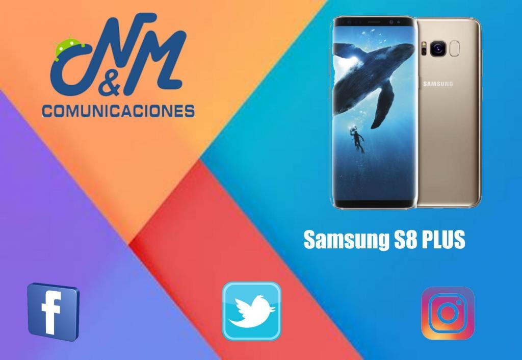 SAMSUNG GALAXY S8 PLUS 64GB 4RAM 12MP Y 8MP.SOMOS