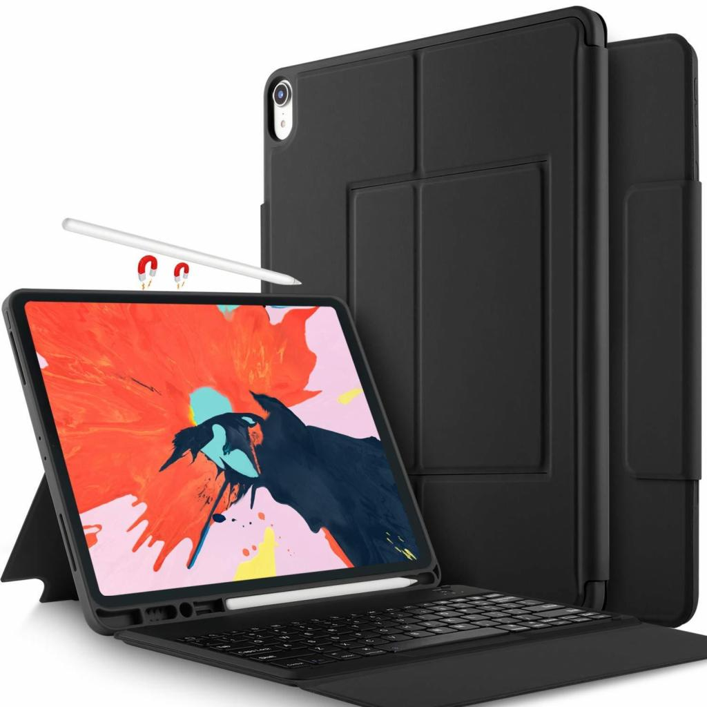 Case Con Teclado Ipad Pro  De Silicona Mate