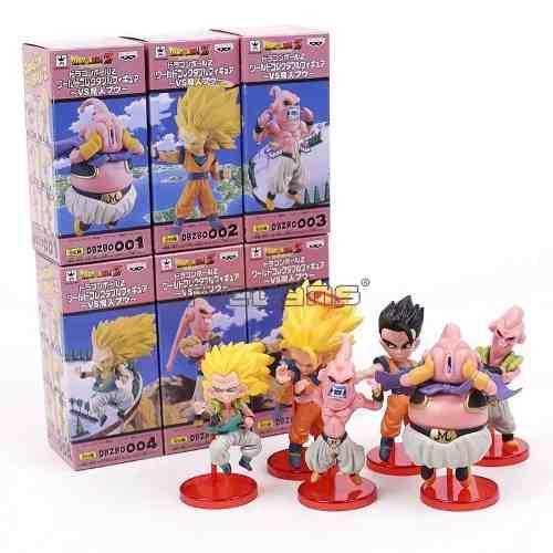 Figura De Colección De Dragón Ball Z Wcf Banpresto X6 Goku