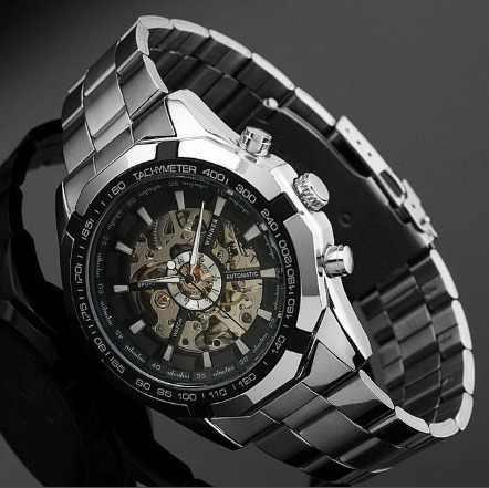 Reloj Winner Skeleton Automatico
