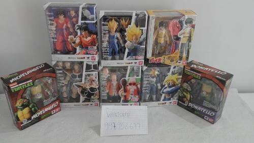 S.h.figuarts Dragon Ball Z Majin Vegeta, Nappa, Roshi, Etc