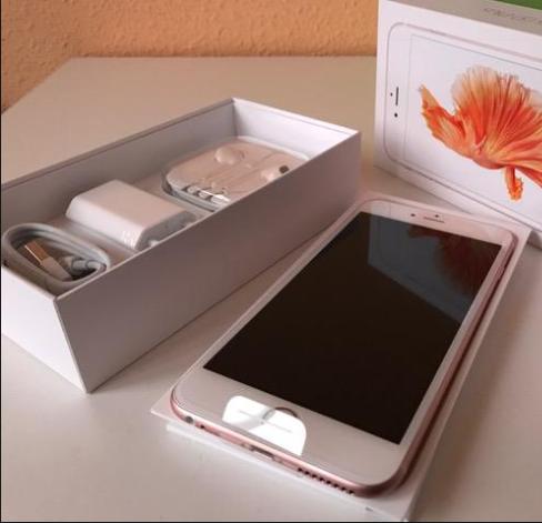 iPhone 6s 32GB rosado nuevo en caja accesorios sellados 6 6