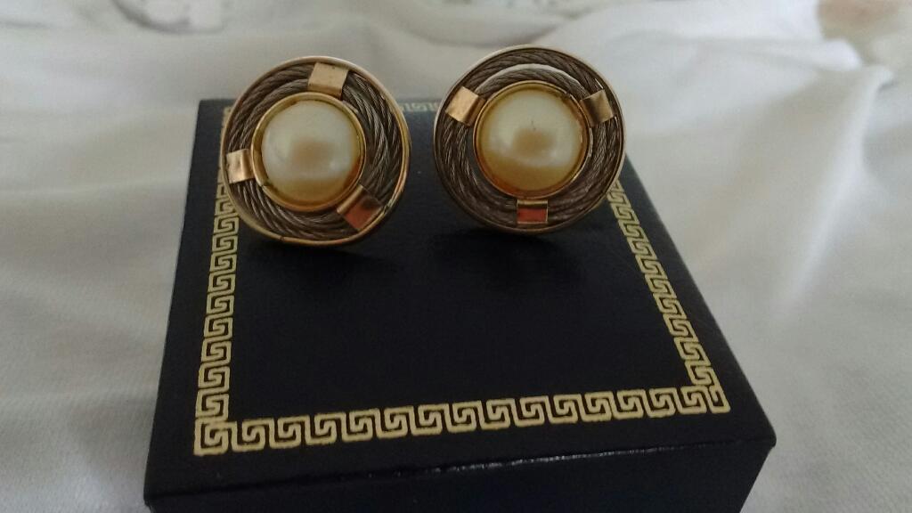 Aretes Oro 14