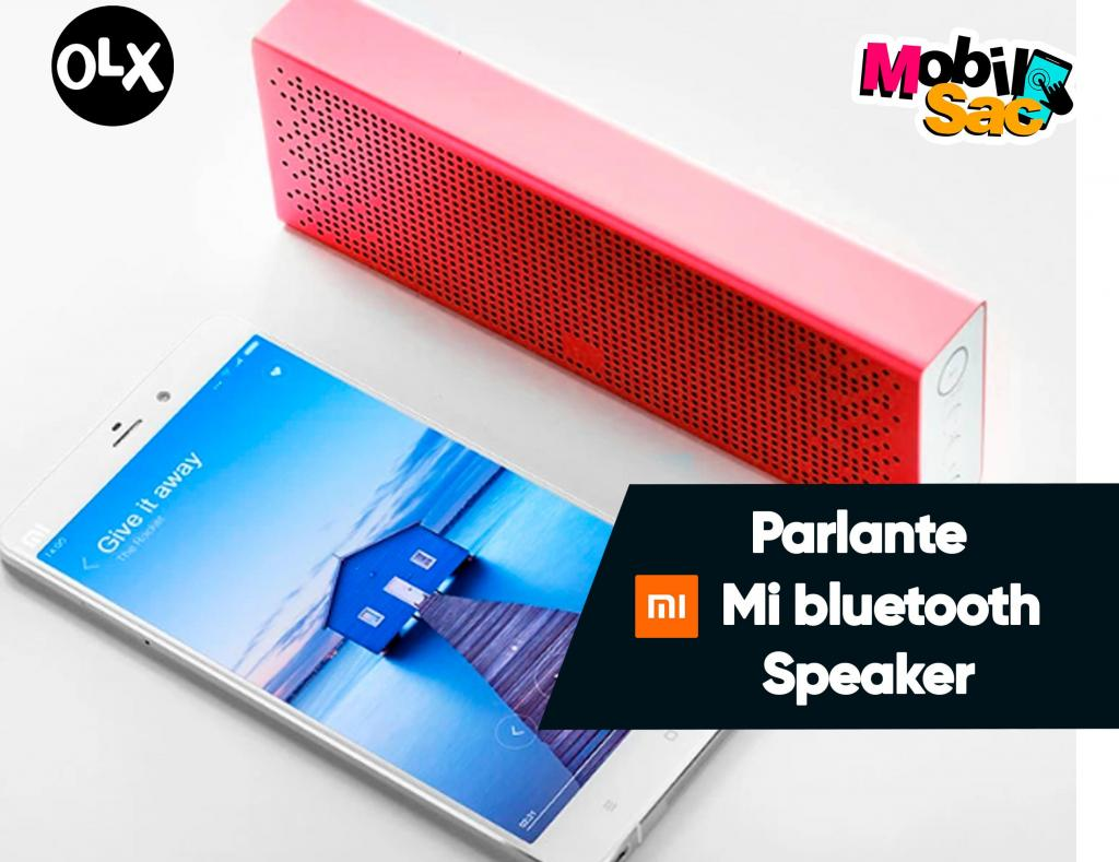 Parlante Xiaomi Mi Bluetooth Speaker/Altavoz Bluetooth