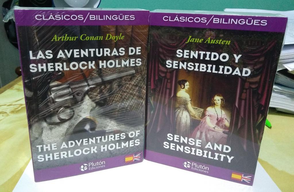 Libros bilingües Español Inglés Nuevos sellados