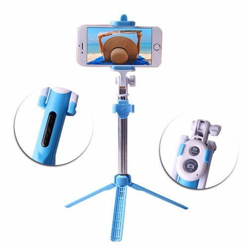 Monopod Tripode Selfie Control Bluetooth Smartphone Celular