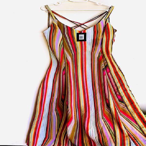 Mujer Vestido Maxi Medium Nuevo Original