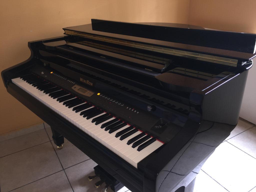 PIANO DE CUARTO DE COLA MARCA WURLITZER NUEVO IMPORTADO DE