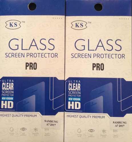 Protector Vidrio Templado Samsung Galaxy A7 2017 Y A7 2018