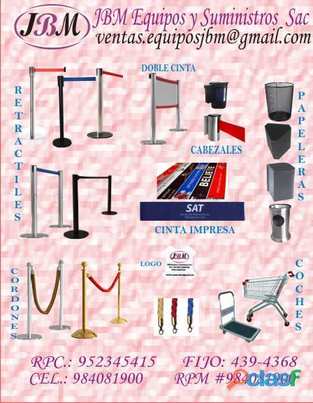 Alquiler de separadores de cola, Lima