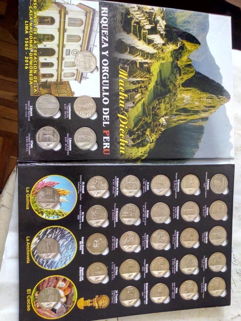 Álbum de Coleccion de Monedas