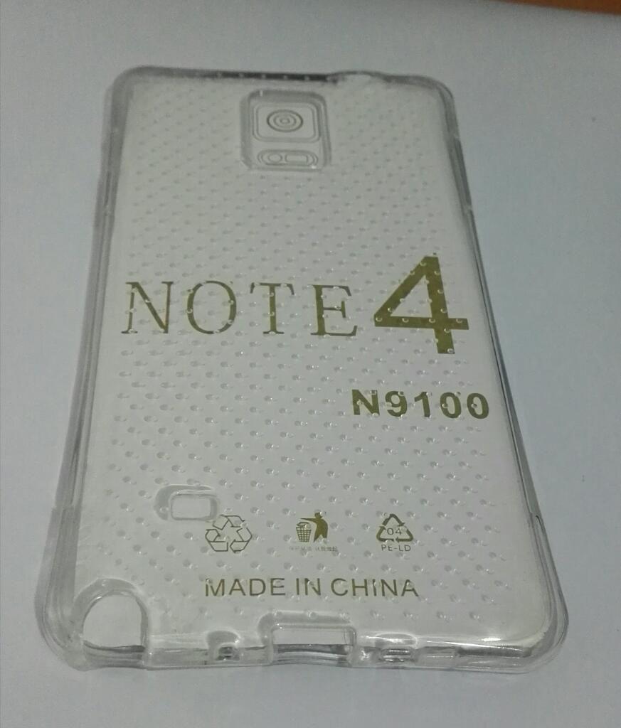 Case Samsung Galaxy Note 4 Transparente