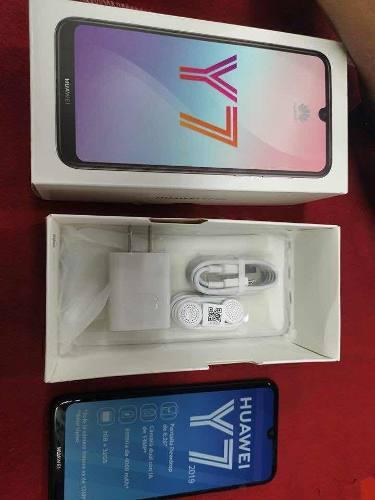 Huawei Y7 2019 De 32gb Ram 3gb Nuevo Ofertaaa !!!!!!!!!!!!!!