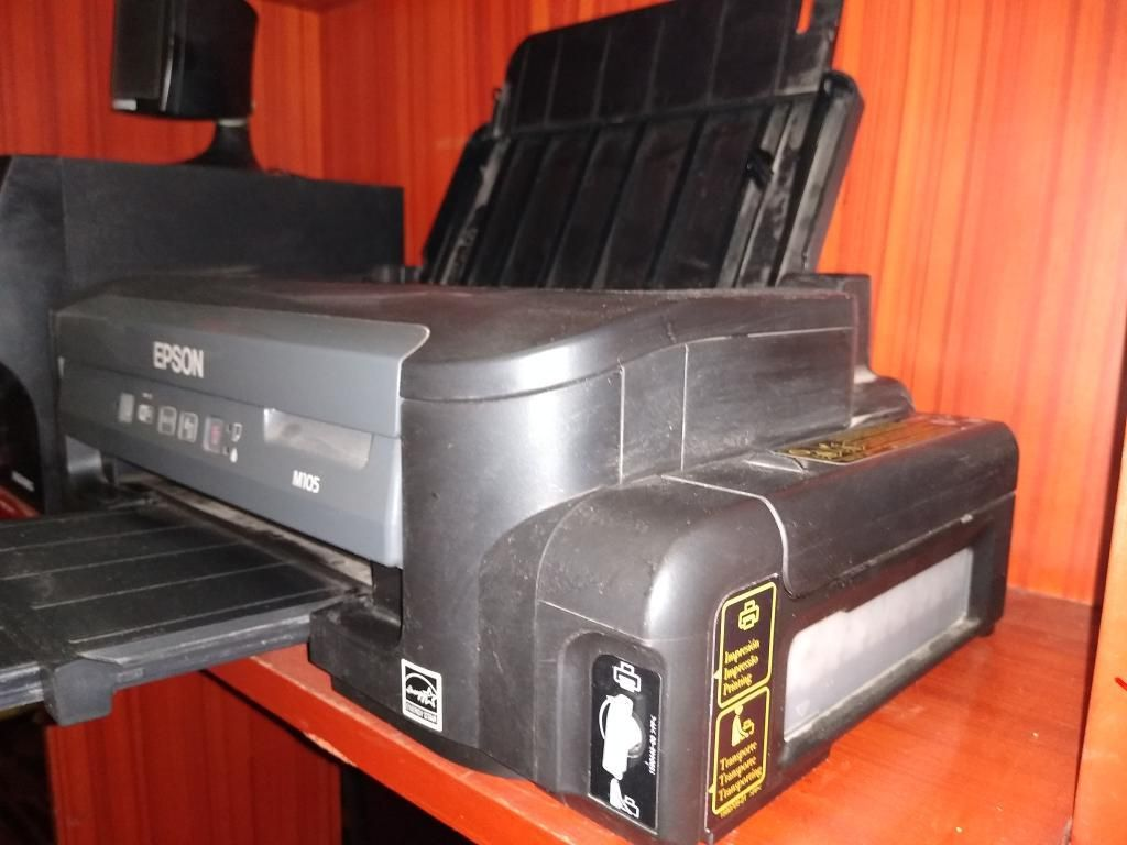 Remato Impresora Epson Sistema Contínuo