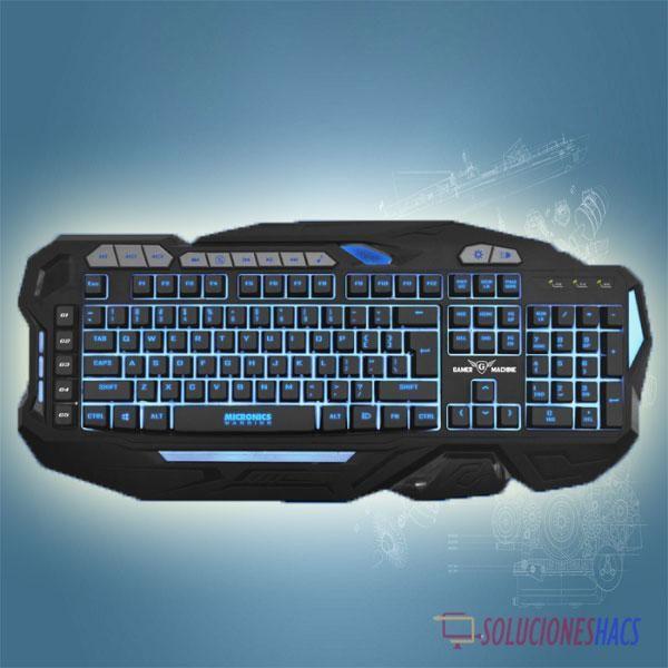 Teclado Gamer Micronics Warrior Mic K802