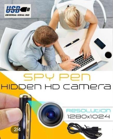 Videocámara con cámara de seguridad oculta con grabadora