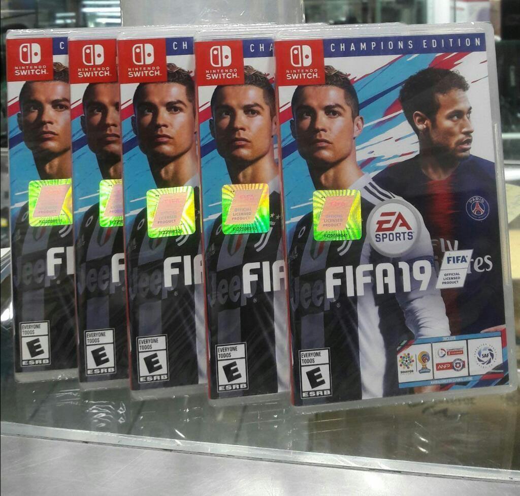 Fifa 19 Champions Edition Nintendo Switch Nuevo y Sellado
