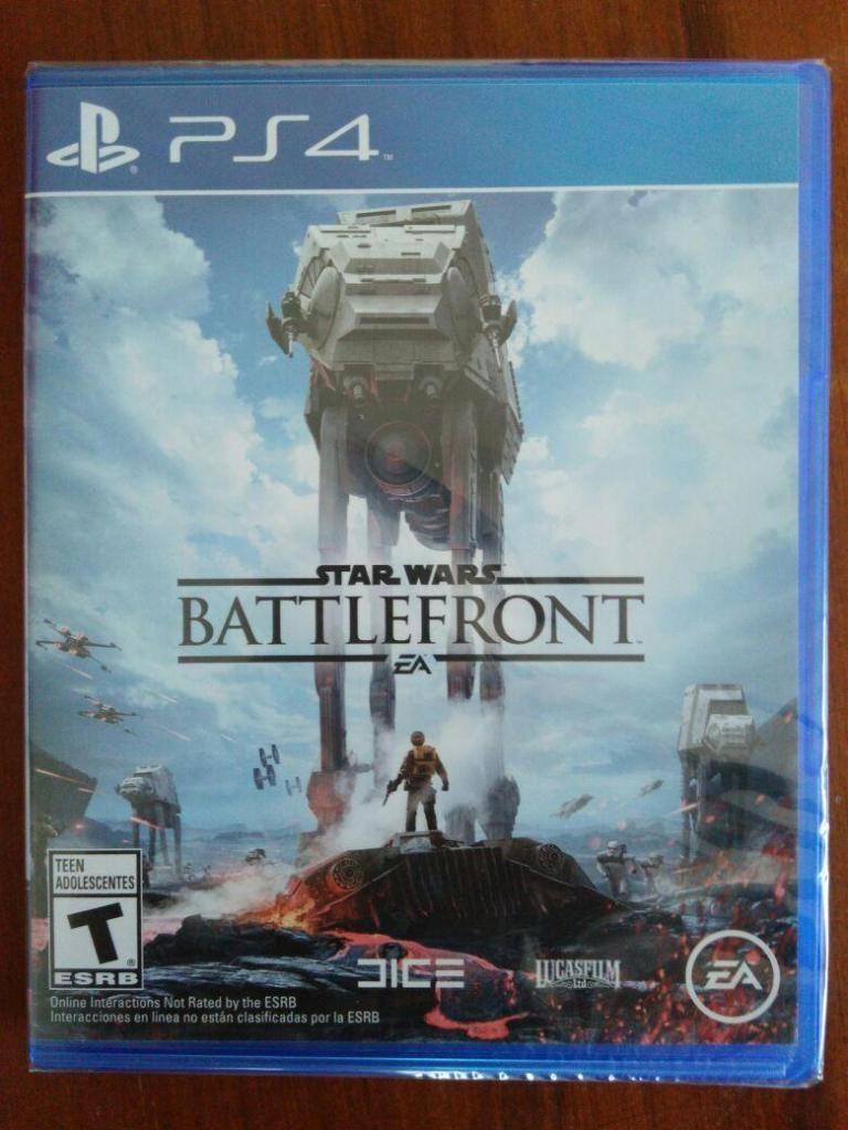 PS4 Battlefront Star Wars juego PS4 Nuevo y Sellado en