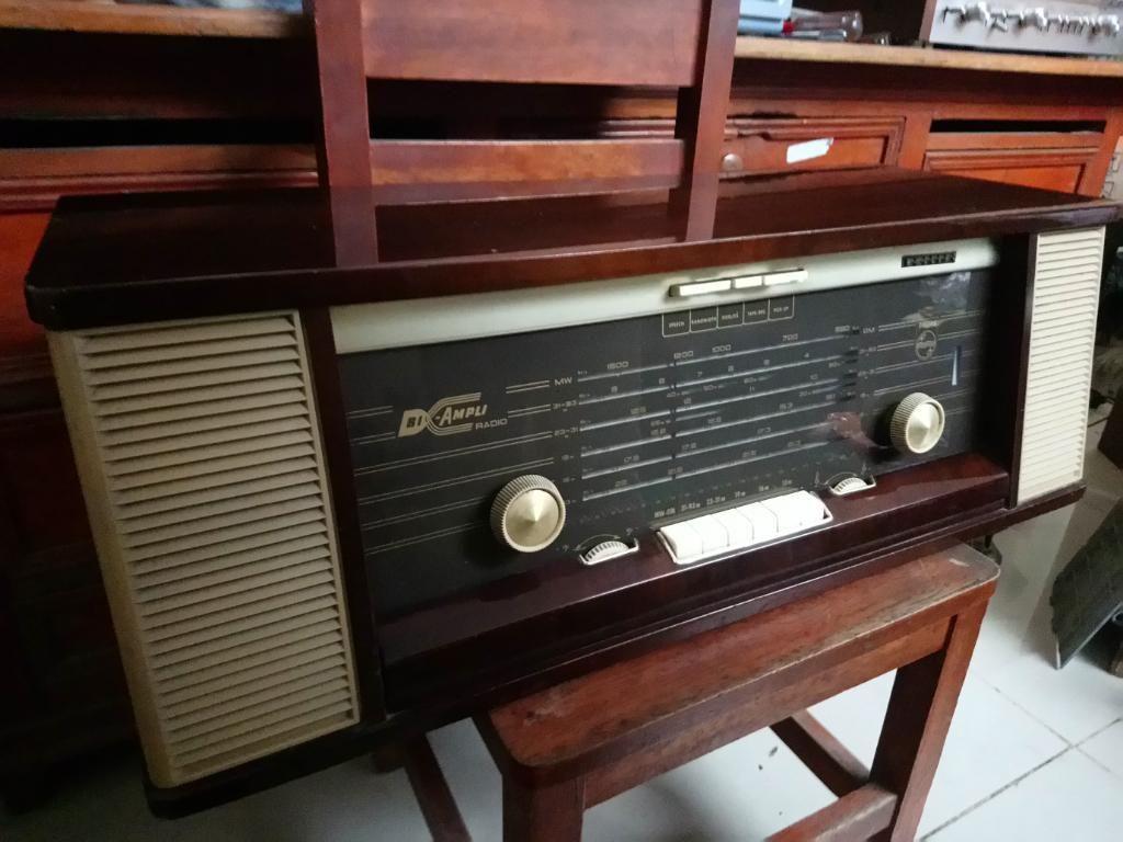 Radio Philips Biampli de Colección