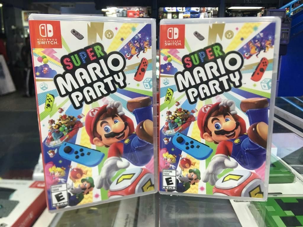 Super Mario Party Nintendo Switch Sellado Stock