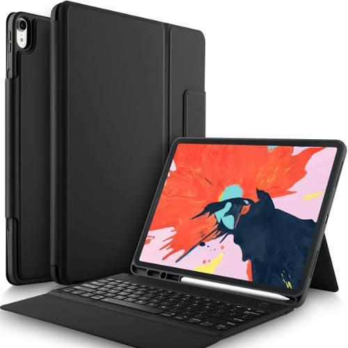 Case Con Teclado Ipad Pro 12.9 2018 De Silicona Mate