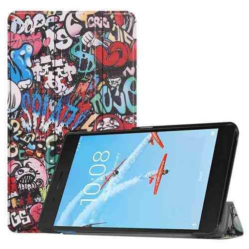 Para Tablet Pc Estuche Lenovo Horizontal Flip Pattern Fwv1