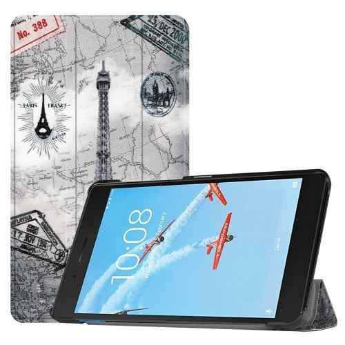Para Tablet Pc Estuche Lenovo Horizontal Flip Pattern Fwvd