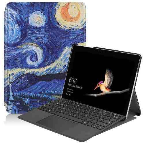 Para Tablet Pc Estuche Starry Sky Pattern Coloreado Fvkg