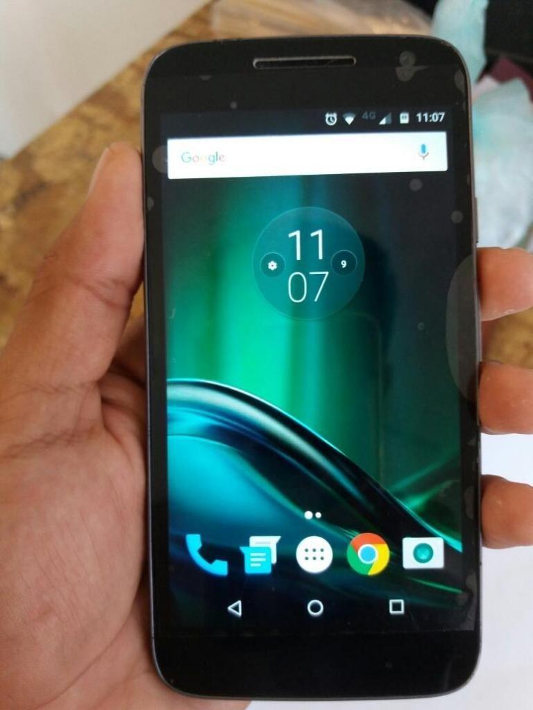 Vendo Celular Moto G4 Play 4G LTE Libre,Camara de