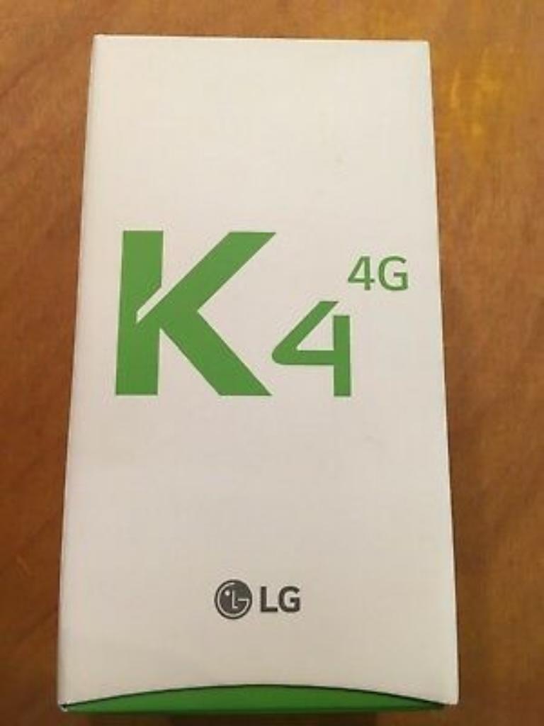 Vendo Lg K4 4g Lte Nuevo en Caja Sellada