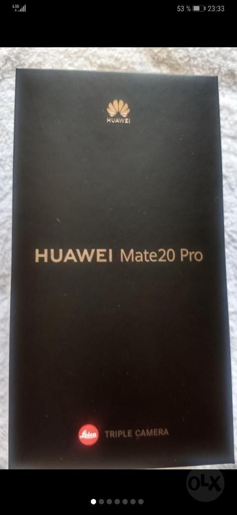 Vendo O Cambio Huawei Mate 20 Pro