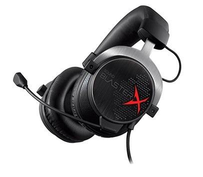Audifono C/microf. Creative Gaming H5 Sbx Black