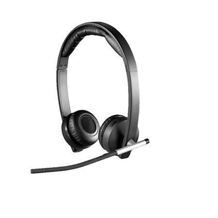 Audifono C/microf. Logitech B2b H820e Usb Dual Black