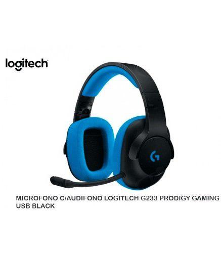 Audifono C/microf. Logitech G233 Prodigy Gaming Black