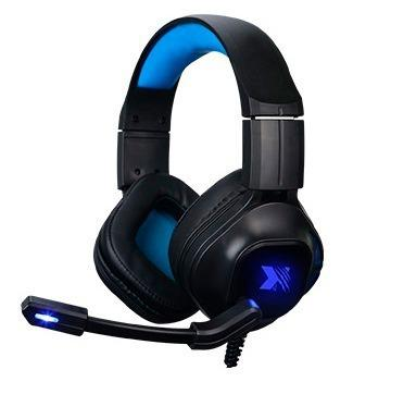 Audifono C/microf. Xblade Gaming Monster Hg8944 Black/blue