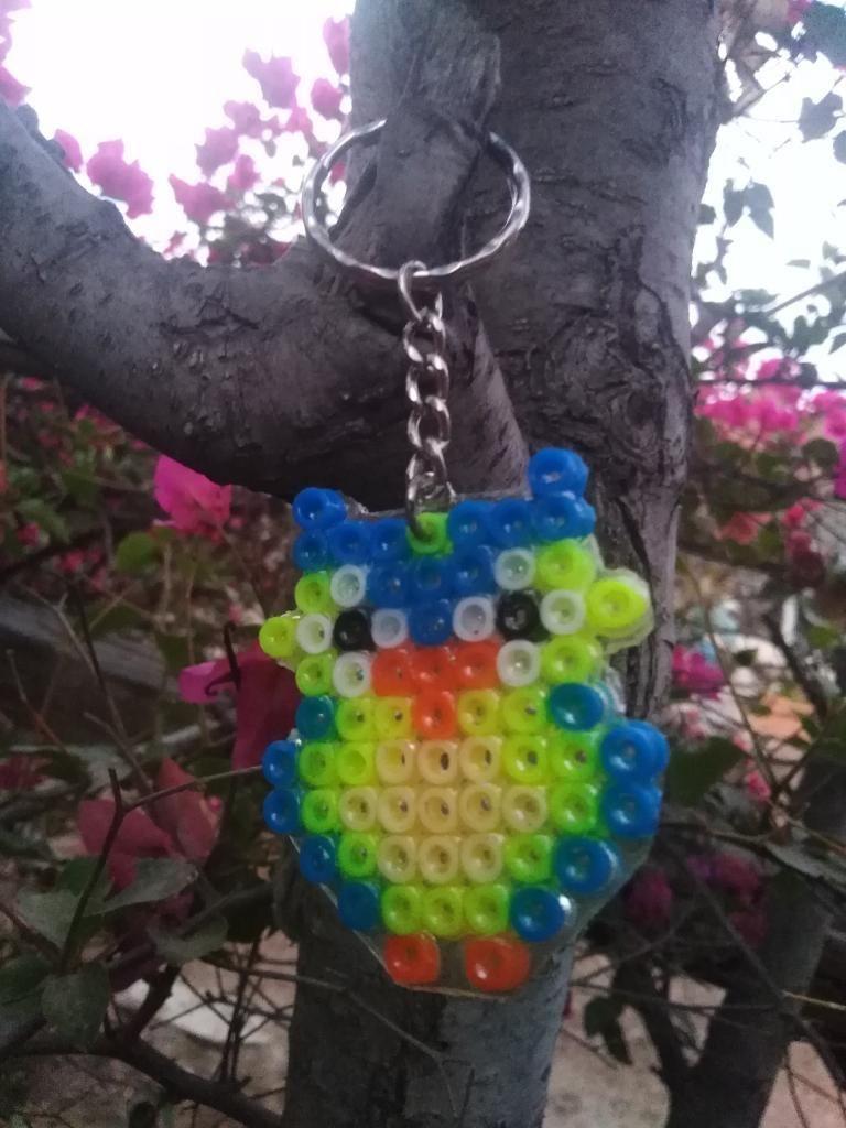 Llavero Búho Hama Beads
