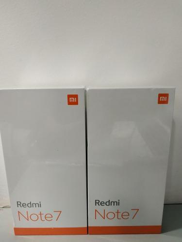 Xiaomi Redmi Note 7 Version Global 4 Ram / 64 Gb Negro/azul