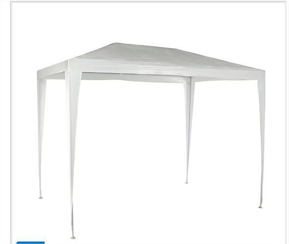 Toldo blanco con base 3x2 metros posot class for Piscina desmontable rectangular 3x2